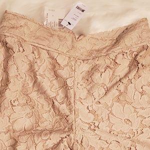Diane Von Furstenberg Shorts - Diane Von Furstenberg lace shorts size 10 NWT